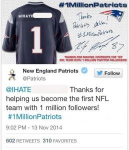 Patriots-tweet